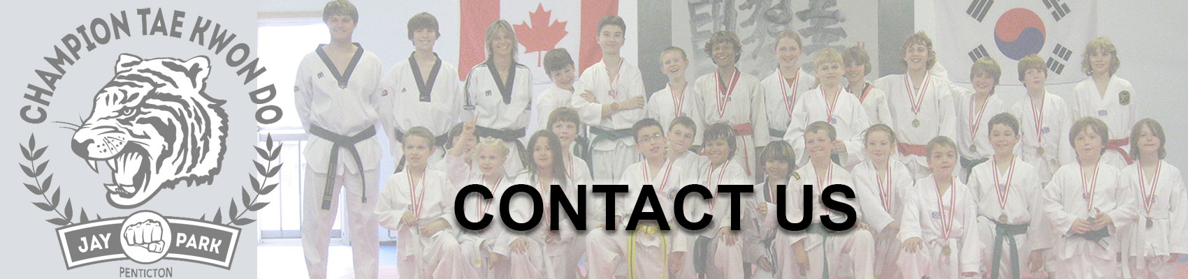 Contact Champion Taekwondo Penticton, formerly known as Valleywide Taekwondo